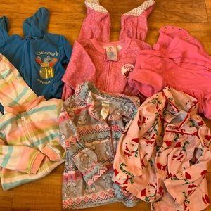 Girls Pajama Lot (6 pieces)